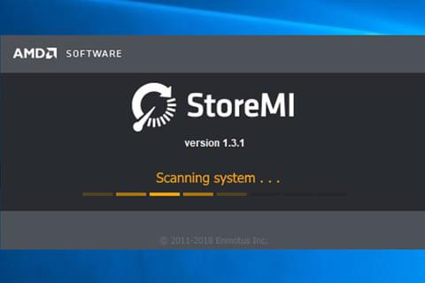AMDのストレージ高速化技術 StoreMIを試してみたのイメージ画像