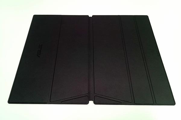 ASUS「ZenScreen Go」付属の専用カバー(スマートカバー)