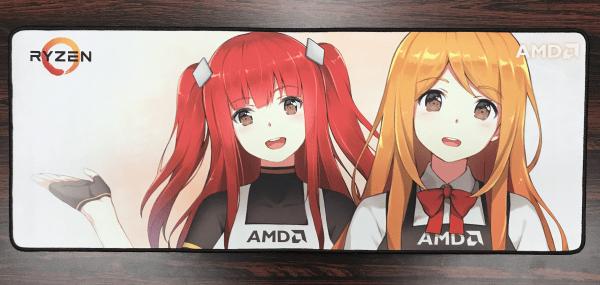 AMD Ryzen 大判マウスパッド 約760mm × 約300mm