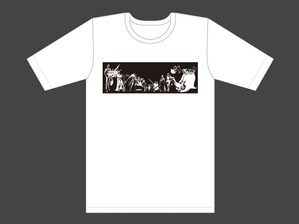 Crazy Raccoon オリジナルTシャツ イメージ