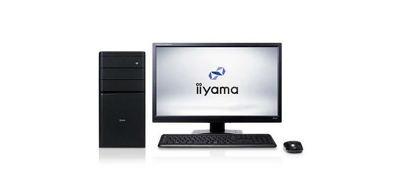 デスクトップパソコンおすすめランキング 【第1位】iiyama STYLE-M1B6-i5-UH-D