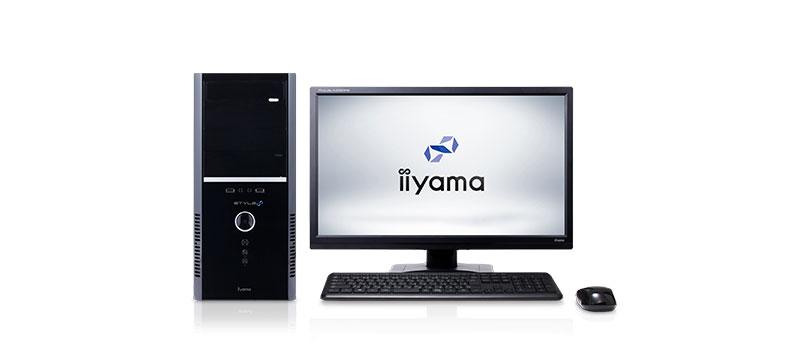 デスクトップパソコンおすすめランキング 【第5位】iiyama STYLE-R039-i7K-UHVI