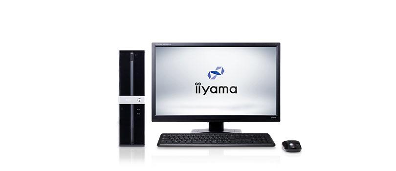 デスクトップパソコンおすすめランキング【第3位】iiyama STYLE-S0B6-i3-UHS-K
