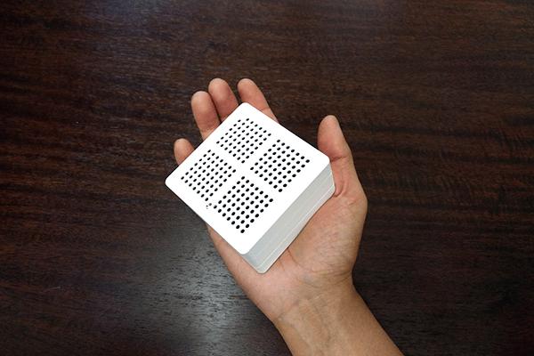 WASHWOW 2.0 手の平に乗るサイズ感