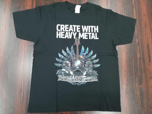第2世代 Ryzen Threadripperロゴ入りTシャツ