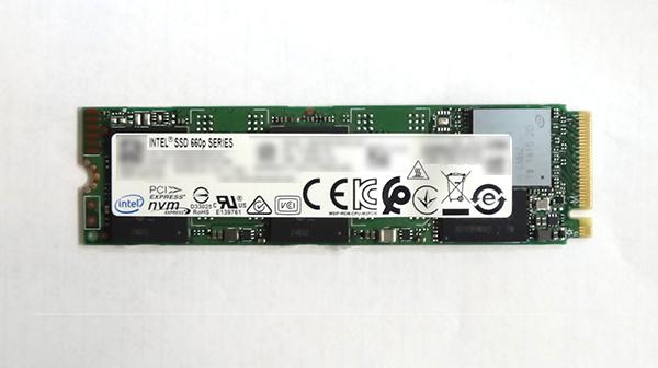 Intel SSD 660p シリーズ