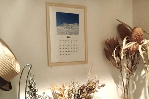 簡単&オシャレに自分だけのオリジナルカレンダーを作ろう!のイメージ画像
