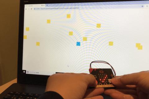 micro:bitで始めるプログラミング入門[Bluetoothでコントローラー編]のイメージ画像