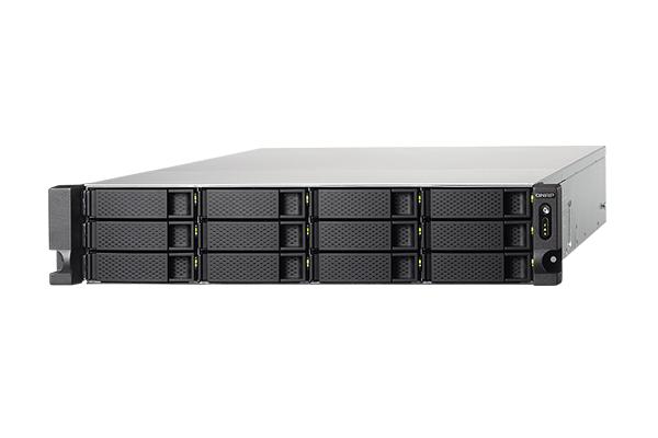 中小企業のサーバー ルーム向けNASの製品例(QNAP製 TS-1253BU-RP-4G)