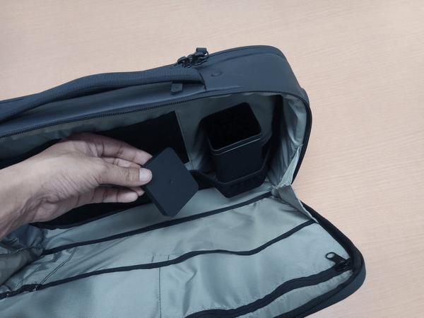 NOMATICシリーズノートPCバッグのサングラスケース
