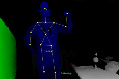 深度センサー Xtion2 で人の骨格を検出するのイメージ画像