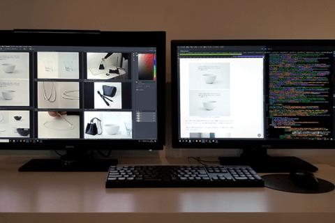 BenQ デザイナー向けモニター SW2700PT、PD2700Q レビューのイメージ画像