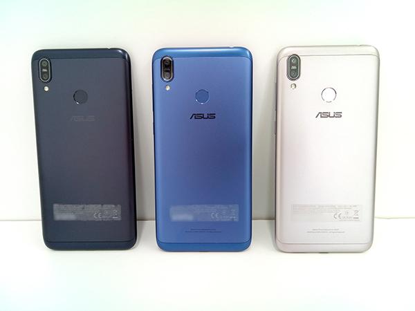 キャプション:左:ミッドナイトブラック、真ん中:スペースブルー、右:メテオシルバー