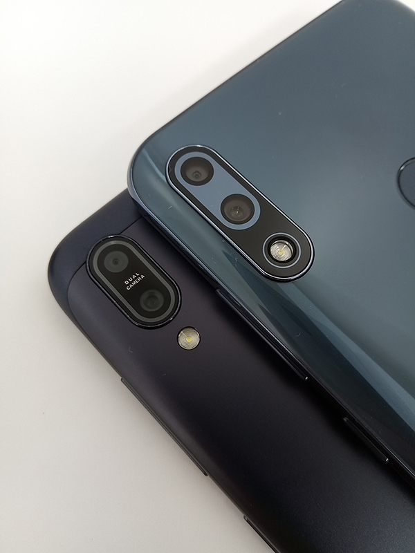 ZenFone Max Pro(M2)とZenFone Max (M2)のデュアルレンズカメラ