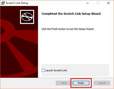 ScratchLinkSetup