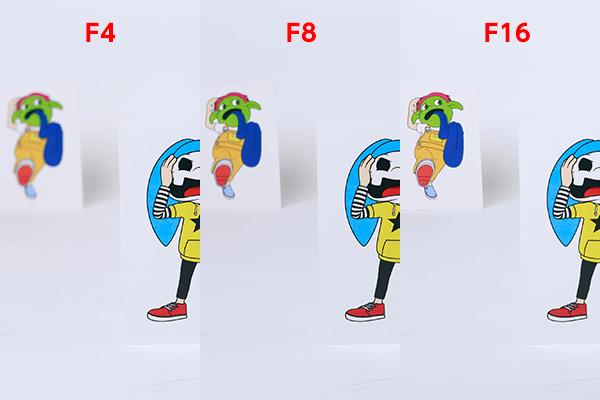 F4、F8、F16の違い