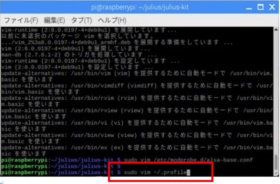 Raspberry Piの設定ファイルを開く