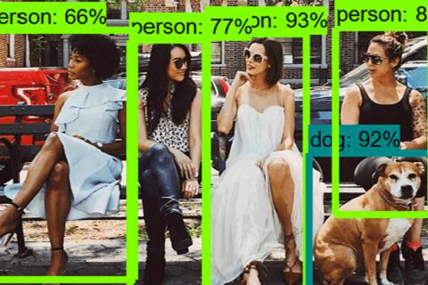 Tensorflow Object Detection APIを使って街中で人間を検出してみたのイメージ画像