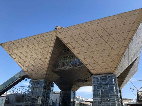 コンテンツEXPO東京2019の会場
