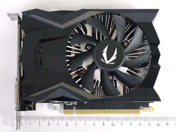 ZOTAC GeForce GTX 1650 4GB GDDR5全景