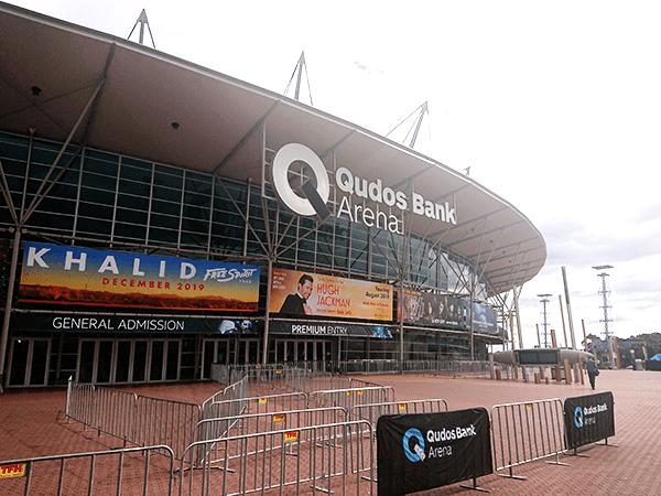 IEM会場となるQudos Bank Arena