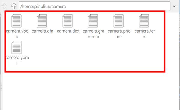 作成された辞書ファイル