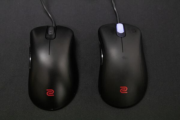 BenQマウス EC2-B(左)、EC2-A(右)