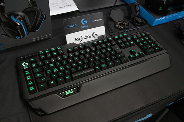 ロジクールGのフラグシップゲーミングキーボード G910