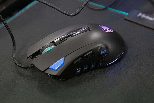 SADES Gaming Mouse Axe S12左側面