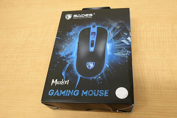 ゲーミングマウス MUSKET(カラー:ホワイト)(提供:SADES様)を1名様にプレゼント!