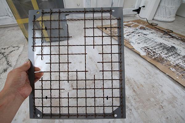 インテリアPCの制作過程・サイドパネルの制作の様子