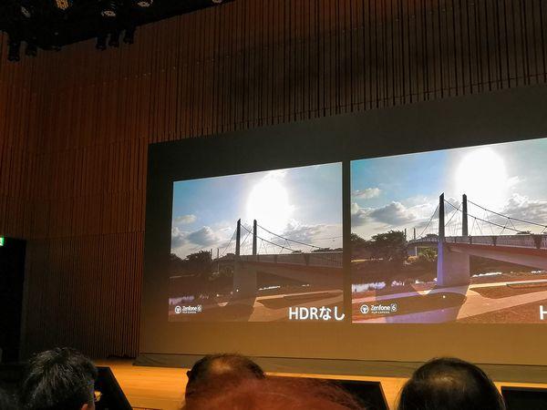 ZenFone 6の強化されたHDR撮影モード-1