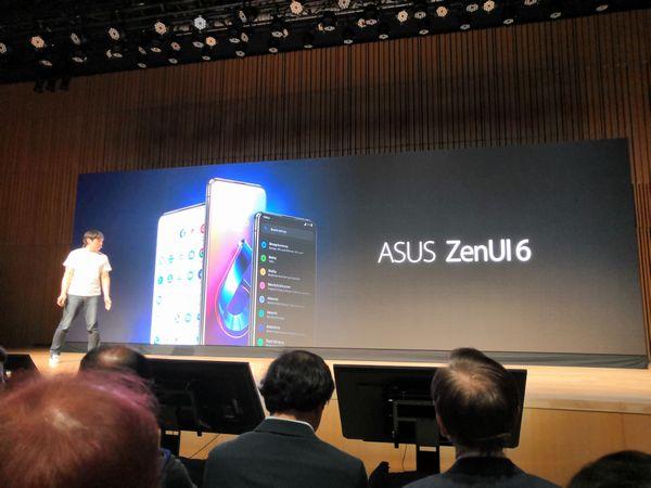 ASUS ZenUI6の紹介