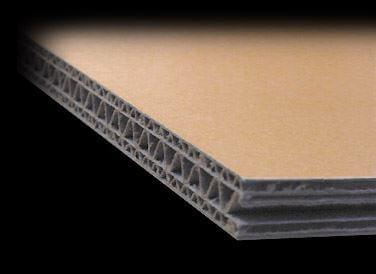 建材用にも使用されるダンボール素材「ユナイトボード」