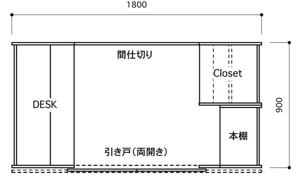 OTONA基地のレイアウト図