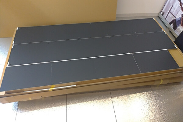 OTONA基地の梱包(側板)