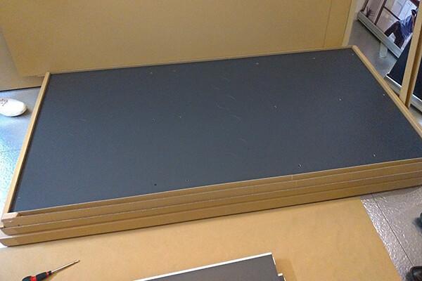 OTONA基地の梱包(天板)