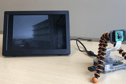 定点観測カメラをRaspberry Piで作るのイメージ画像