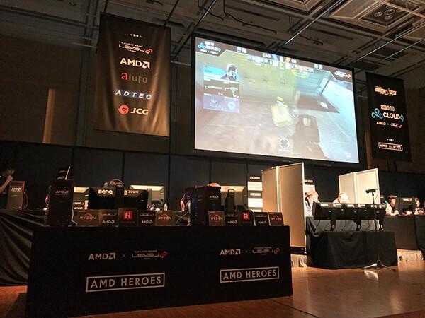 第2試合 CLOUD9 VS CYCLOPS athlete gamingの模様