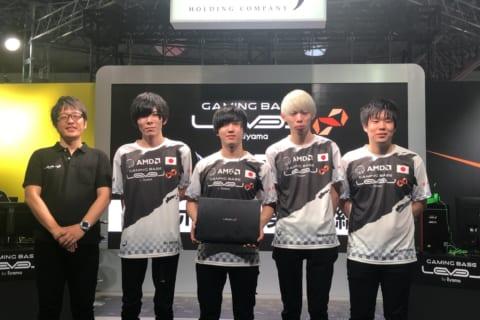 東京ゲームショウ2019でAll Rejection GamingとLEVEL∞のスポンサード契約締結のイメージ画像
