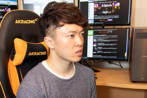 AKRacingゲーミングチェアの座り心地を宮田 莉朋選手にインタビューのイメージ画像