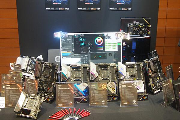 ASRock展示コーナー