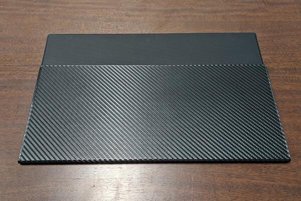 モバイルディスプレイ「FW-LCD156」付属のカバーケース