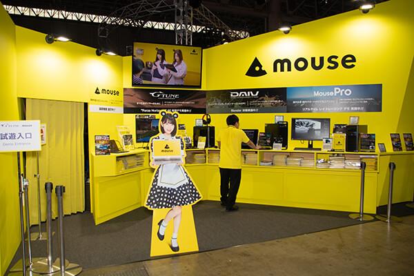 東京ゲームショウ2019 マウスコンピューターの試遊スペース