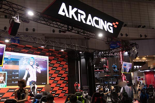 東京ゲームショウ2019 AKRacingブース