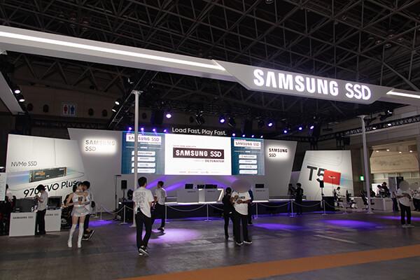 東京ゲームショウ2019 Samsung SSDブース
