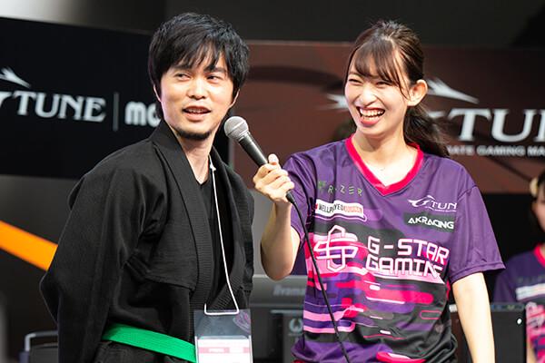 ステージに登場したImpress PC Watchの若杉 紀彦氏