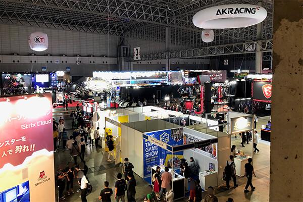 東京ゲームショウ2019 ビジネスデイホール3の様子