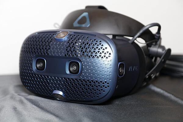 6基のカメラセンサーで高精度なインサイドアウトトラッキングを実現した「VIVE COSMOS」