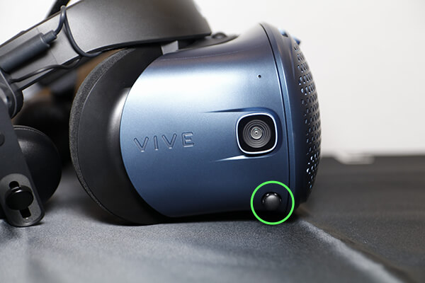 VIVE COSMOS IPD(瞳孔間の調整)ダイヤル
